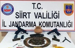 Siirt merkezli silah kaçakçılığı operasyonu