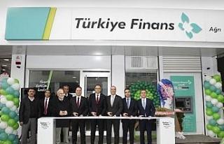 Türkiye Finans Ağrı'daki ilk şubesini açtı