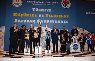 7 yaşındaki satranççı Mardinli Baver'den yenilgisiz...
