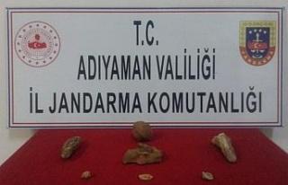 Adıyaman'da tarihi eser operasyonu