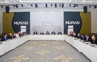 Basım yayın ve medya sektörünün geleceği MÜSİAD'da...