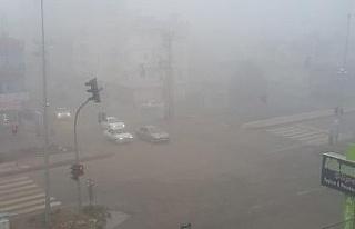 Adıyaman ve Şanlıurfa'da yoğun sis