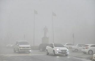 Mardin'de sis ulaşımı olumsuz etkiledi