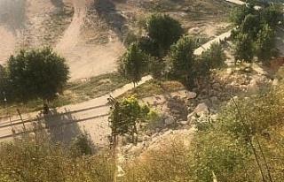Şanlıurfa'daki heyelan
