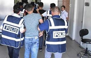Gaziantep'te aranan şüphelilere yönelik operasyon