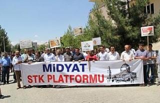 Mursi için Midyat'ta gıyabi cenaze namazı