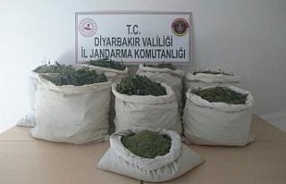 Diyarbakır'da PKK'lı teröristlere ait 9 mağara...