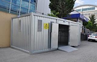 Karmod, tehlikeli atık depolama konteyneri üretti