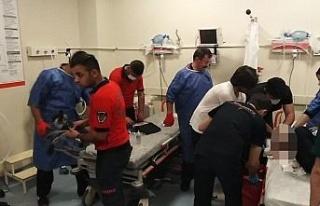 Şanlıurfa'da bir kişi elini kıyma makinesine kaptırdı