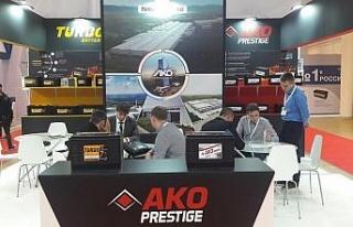 Yerli üretim Ako Akü Rusya'daki fuarda ilgi odağı...