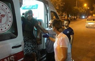 Adıyaman'da motosiklet devrildi: 4 yaralı