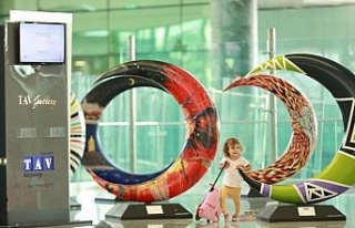 Hilal-i Ahmer Koleksiyonu Adnan Menderes Havalimanında