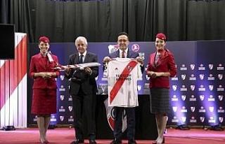 River Plate, THY'nin sponsorluğuyla gurur duyuyor