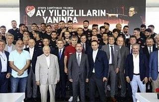 TFF ve A Milli Takım, sponsorlarıyla buluştu