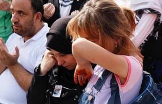 Akçakale'de şehit olan Muhammed bebek ve Cihan Güneş...