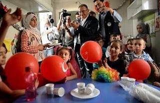 Suriyeli çocuklar Türk akranlarıyla buluşturulacak