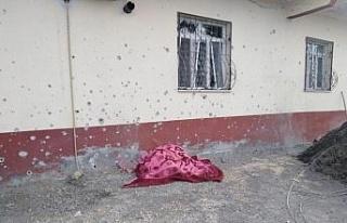 Terör örgütü YPG/PKK'nın Suriye'de işgali altındaki...