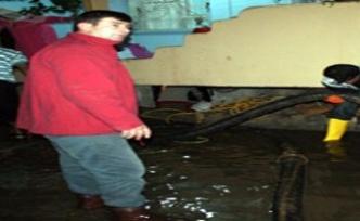 Midyat'ta Sel Baskını