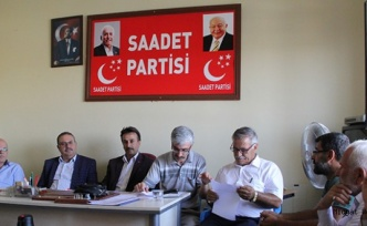 Midyat ilçesinde, Saadet Partisi (SP) ilçe kongresi yapıldı.