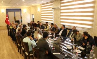Siirt Emniyet Müdür Vekili Kızılay gazetecilerle buluştu