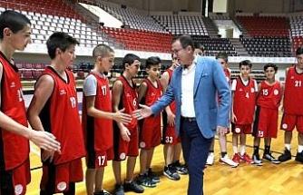 Gaziantep Basketbol'dan altyapı yatırımı