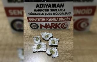 Adıyaman'da uyuşturucu operasyonları