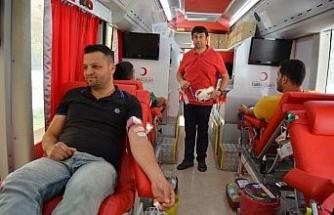 İslahiye ve Nurdağı'nda kan bağışı kampanyası