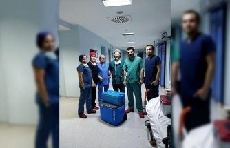 Beyin ölümü gerçekleşen hasta 3 kişiye umut oldu