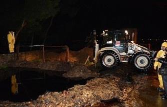 GÜNCELLEME - Gaziantep'te petrol boru hattına yıldırım düştü
