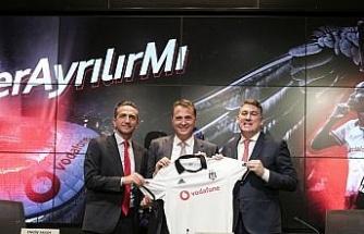 Beşiktaş, Vodafone ile sözleşme yeniledi