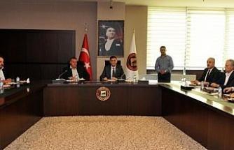 El Bablı sanayiciler Gaziantep'te