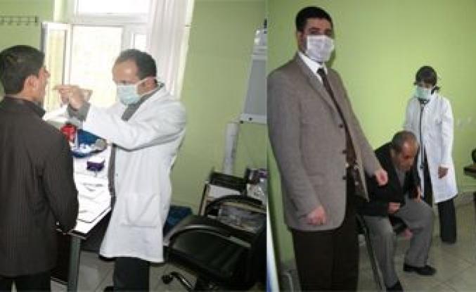 Midyat Devlet Hastahanesi Domuz Gribine karşı Hazır