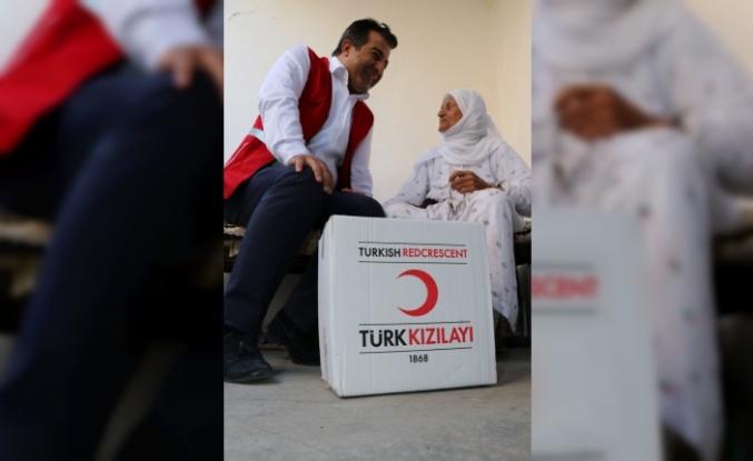 Türk Kızılayından Batman'da 4 bin aileye gıda yardımı