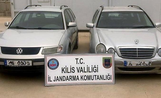Kilis'te kaçak otomobil operasyonu