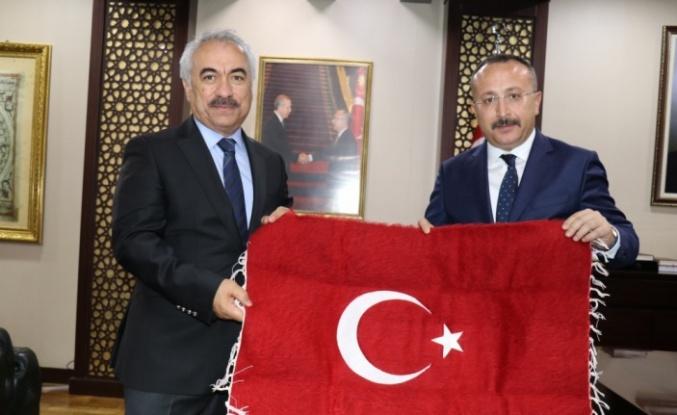 İçişleri Bakan Yardımcısı Ersoy ve Jandarma Genel Komutanı Orgeneral Çetin, Siirt'te