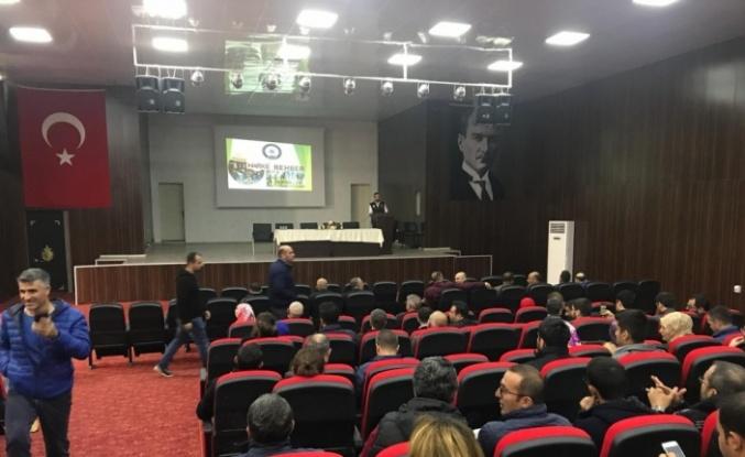 Mardin'de uyuşturucuyla mücadele semineri