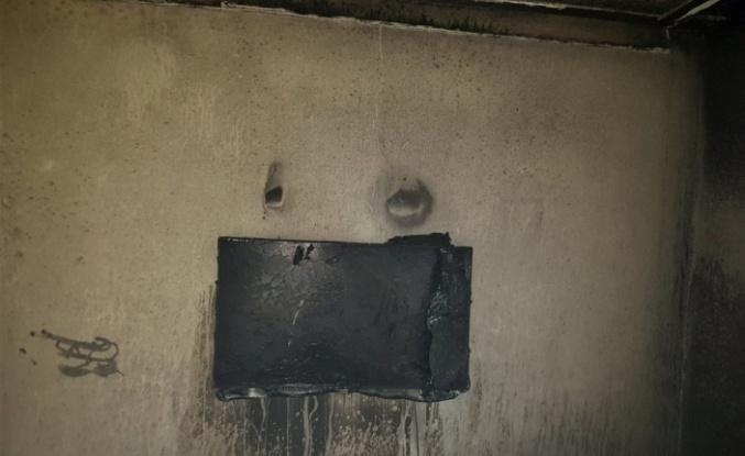 Soba borusunun ısısı yangına yol açtı