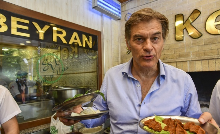 """Dr. Öz'den """"Anadolu yemekleri tüketin"""" önerisi"""