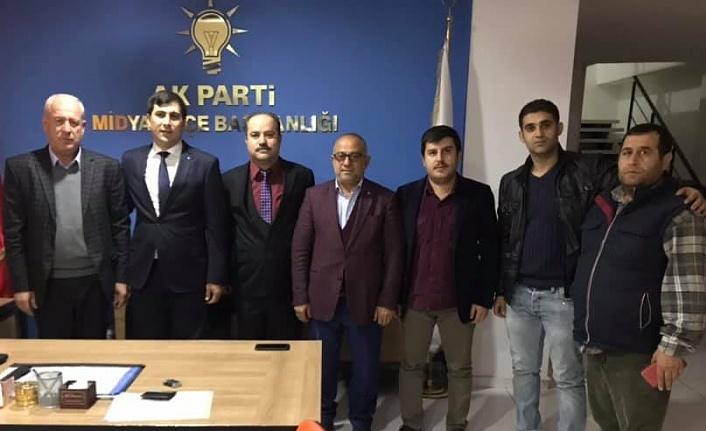 Mehmet Sait Baş Midyat Belediye Meclis Üyeliği İçin Başvurusunu Yaptı