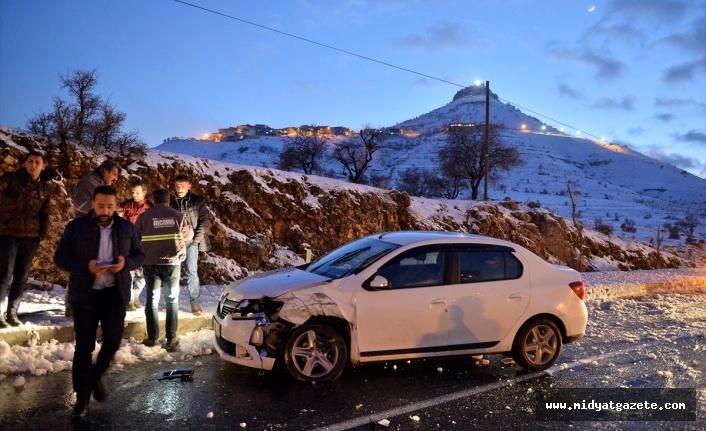 Mardin'de zincirleme trafik kazaları: 8 yaralı