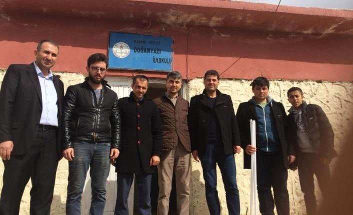 Meslek Liseli Öğrenciler Doğanyazı İlkokulunun Elektrik Tesisatını Yeniledi.